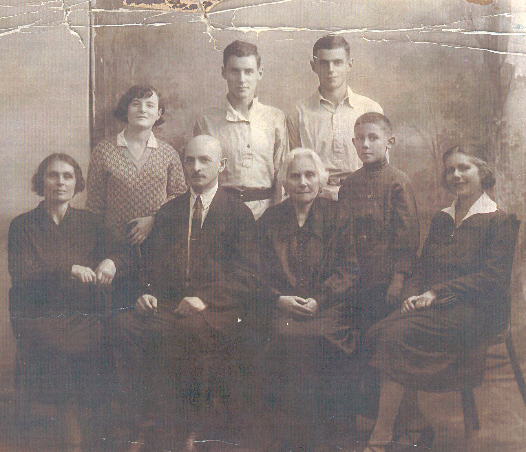 Lurye family about 1934